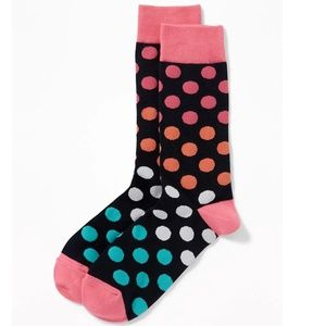 Other - mens polka dot socks